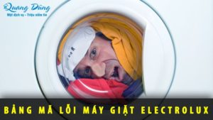 Mã lỗi máy giặt Electrolux