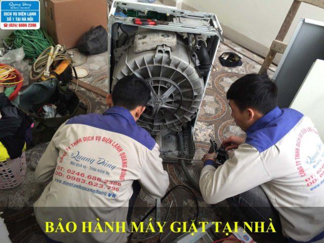 Thợ bảo hành máy giặt Quang Dũng