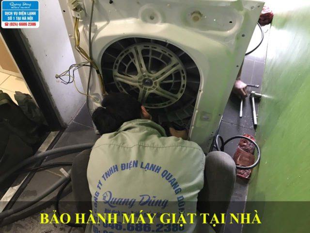 Bảo hành máy giặt tại nhà