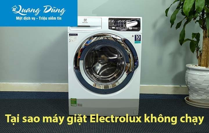 Máy giặt Electrolux không chạy