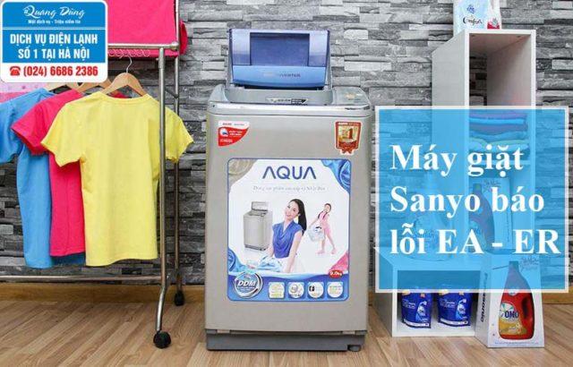 Máy giặt Sanyo báo lỗi ea