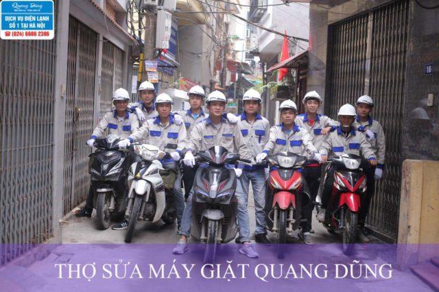 Đội ngũ thợ sửa chữa máy giặt Quang Dũng