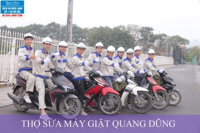Thợ sửa chữa máy giặt Quang Dũng