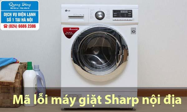 Mã lỗi máy giặt Sharp nội địa