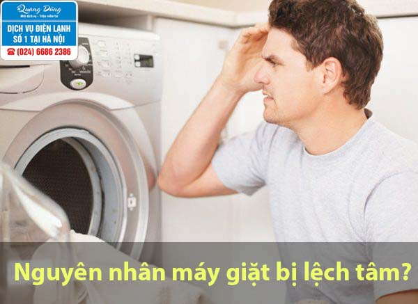 Máy giặt bị lệch tâm
