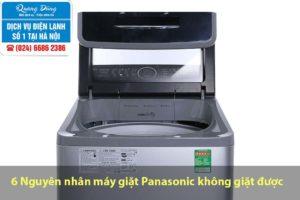 Máy giặt panasonic không giặt được