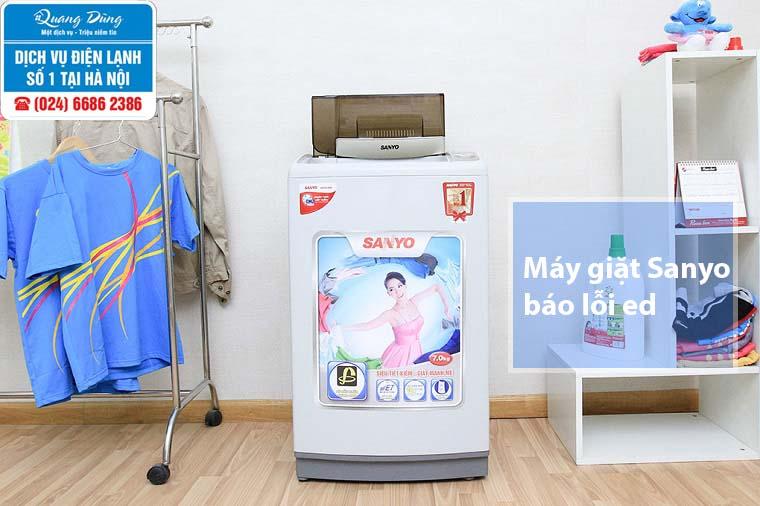 Máy giặt sanyo báo lỗi ed